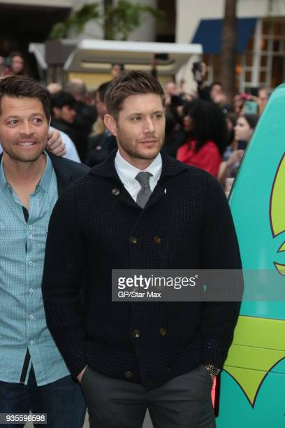 Jensen Ackles is seen on March 20 2018 in Los Angeles CA