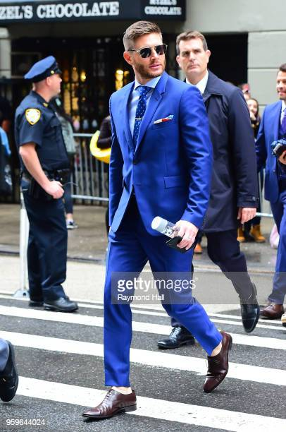 Jensen Ackles is seen walking in midtown on May 17 2018 in New York City