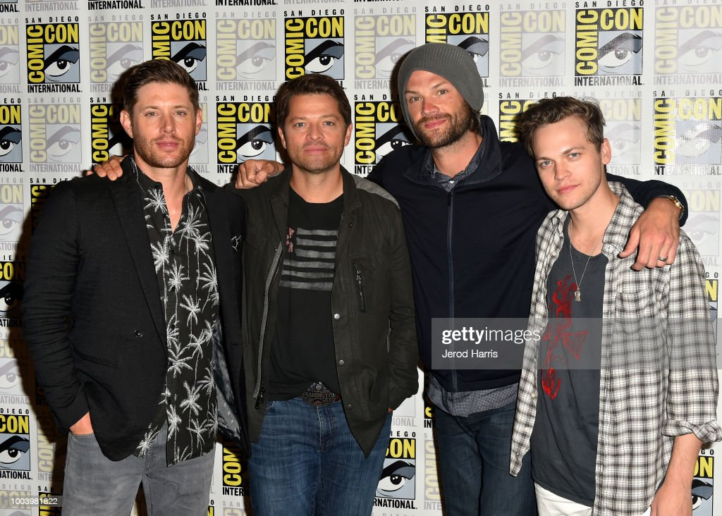 "Comic-Con International 2018 - ""Supernatural"" Press Line"