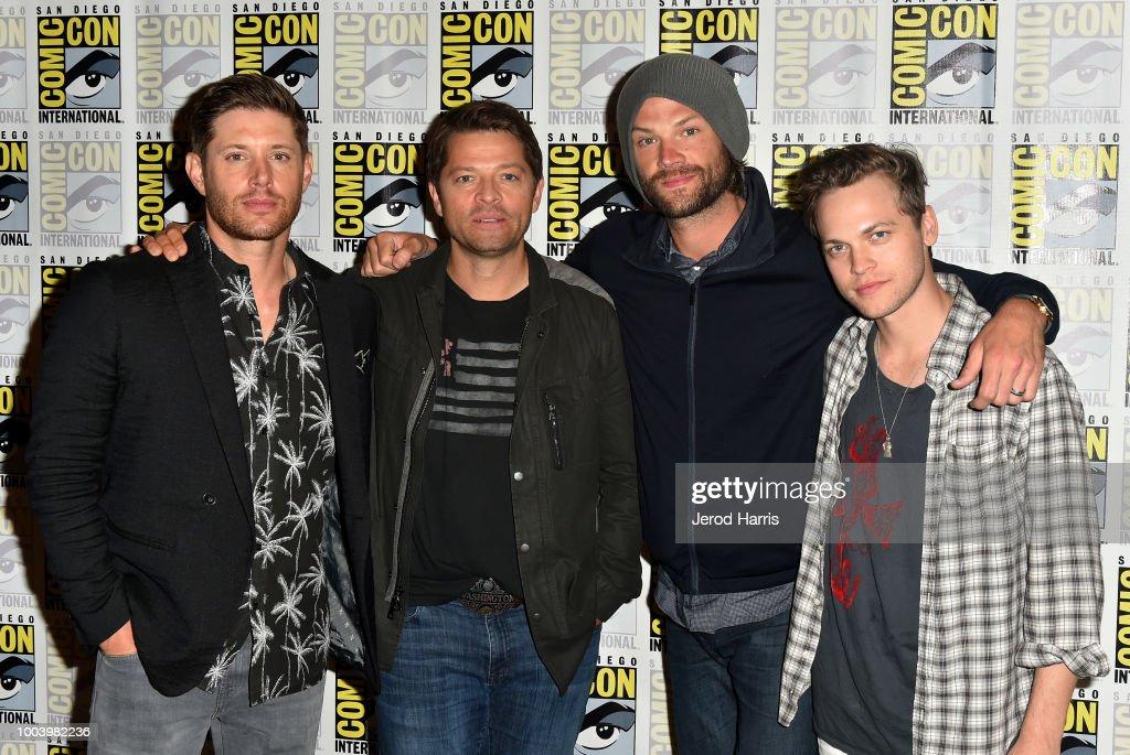 Comic-Con International 2018 - 'Supernatural' Press Line : News Photo