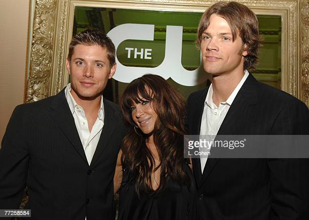 Jensen Ackles Robin Antin and Jared Padalecki