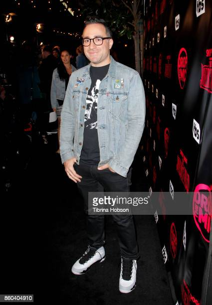 Jensen Karp attends the premiere for TBS's 'Drop The Mic' and 'The Joker's Wild' at The Highlight Room on October 11 2017 in Los Angeles California