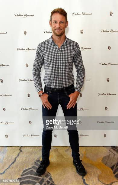Jenson Button attends Parham Ramezani X Jenson Button jewellery launch at The Shard on July 20 2017 in London England