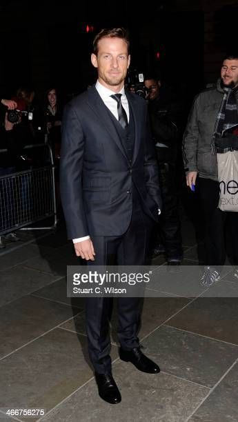 Jenson Button attends the VIP private view of David Bailey Bailey's Stardust at National Portrait Gallery on February 3 2014 in London England