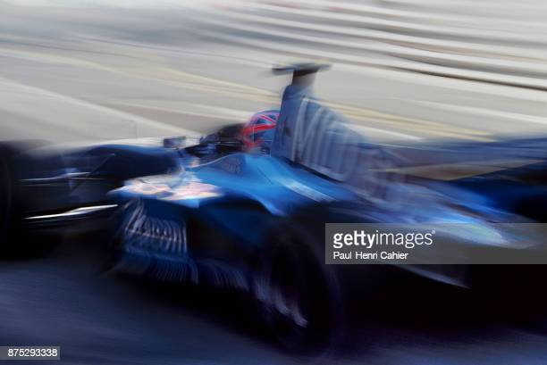 Jenson Button BenettonRenault B201 Grand Prix of Monaco Circuit de Monaco 27 May 2001