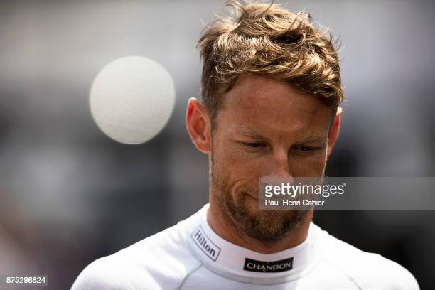 Jenson Button Grand Prix of Monaco Circuit de Monaco 28 May 2017