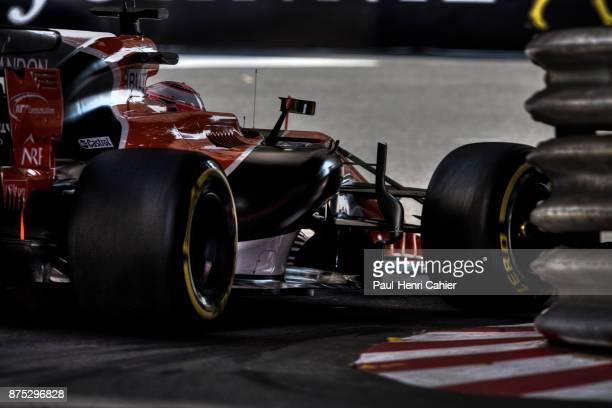 Jenson Button McLarenHonda MCL32 Grand Prix of Monaco Circuit de Monaco 28 May 2017 One last stint for Jenson Button with McLaren in Monaco 2017