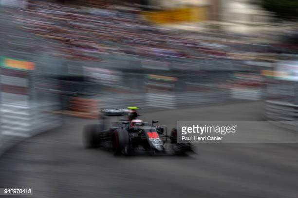 Jenson Button McLarenHonda MP431 Grand Prix of Monaco Circuit de Monaco 29 May 2016