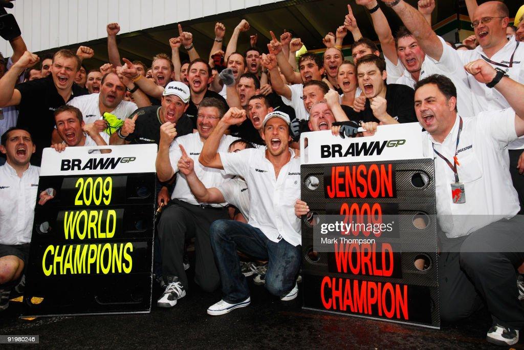 F1 Grand Prix of Brazil - Race : News Photo