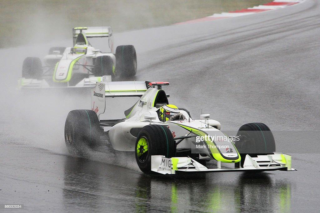F1 Grand Prix of China - Race : News Photo