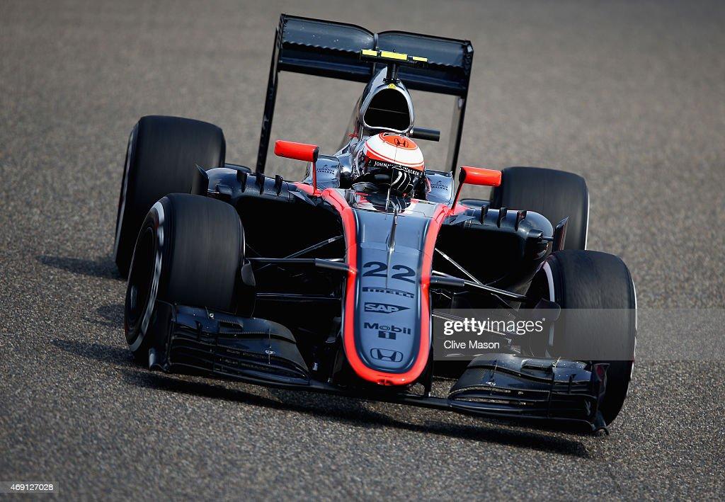 F1 Grand Prix of China - Practice : News Photo