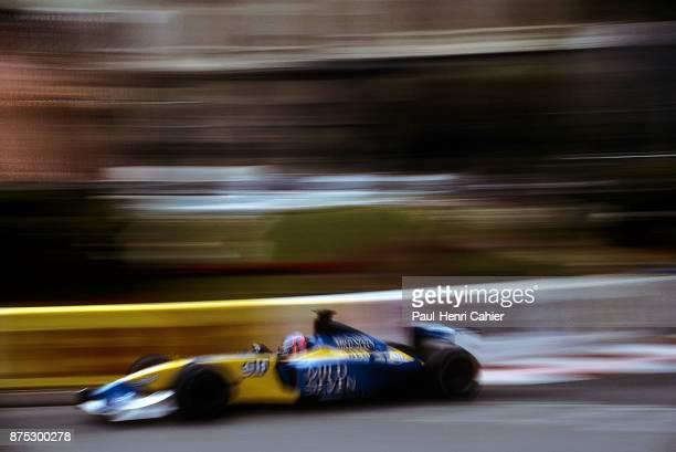 Jenson Button Renault R202 Grand Prix of Monaco Circuit de Monaco 26 May 2002