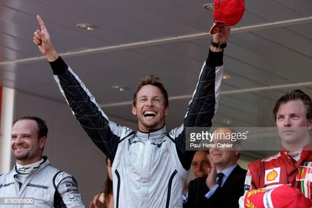 Jenson Button Rubens Barrichello Kimi Raikkonen Grand Prix of Monaco Circuit de Monaco 24 May 2009