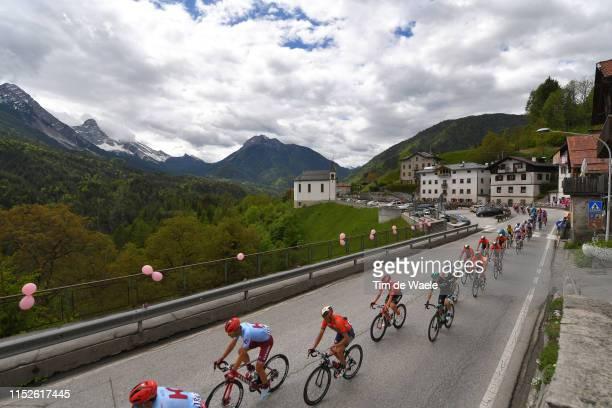 Jenthe Biermans of Belgium and Team Katusha Alpecin / Valle di Cadore / Mountains / Landscape / Peloton / Snow / during the 102nd Giro d'Italia 2019...