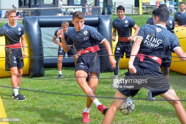 Jenthe Mertens during team bonding activities during the OHL Leuven training session on July 09 2018 in Maribor Slovenia