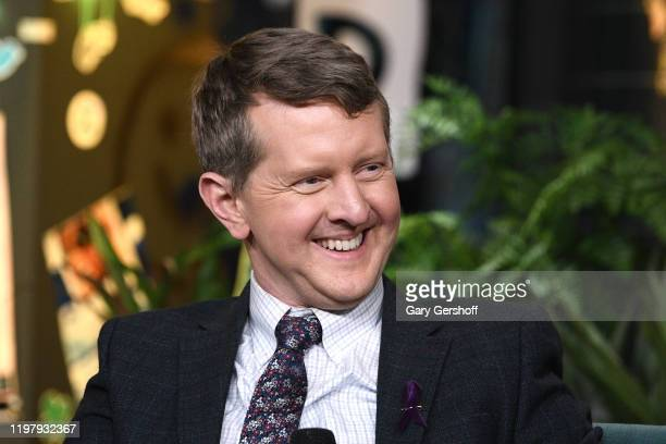 """""""Jeopardy"""" contestant Ken Jennings visits the Build Series to discuss the television event """"JEOPARDY The Greatest of All Time"""" at Build Studio on..."""