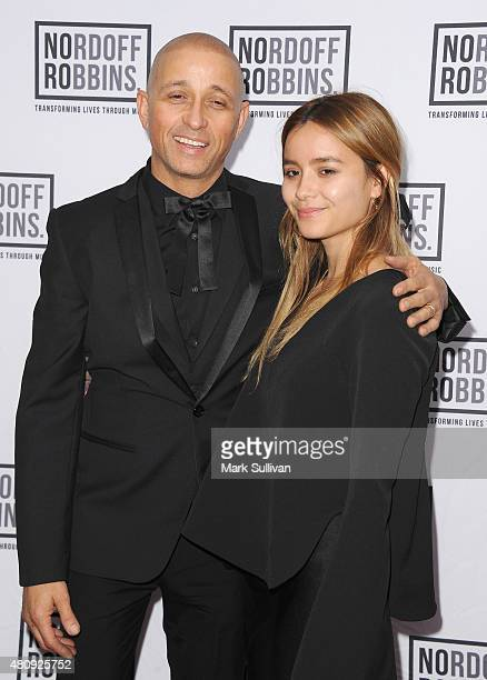 Jep Lizotte Diesel Lizotte and Lily Lizotte arrive at Art of Music Live at Sydney Opera House on July 16 2015 in Sydney Australia