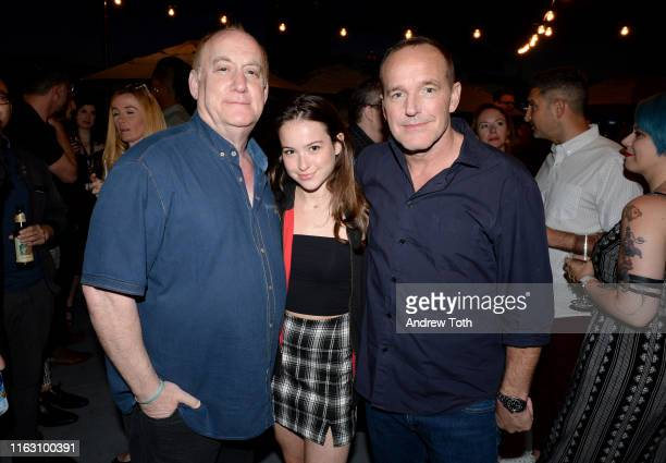 """Jeph Loeb and Clark Gregg attend an """"After Dark"""" Party, hosted by Entertainment Weekly and Marvel Television, at San Diego Comic-Con 2019 at Hard..."""