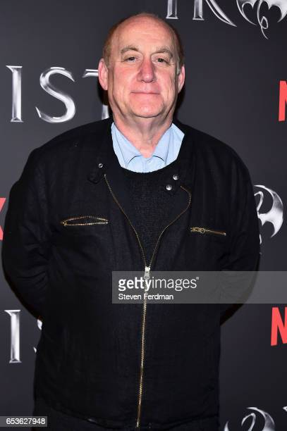 Jeph Loeb arrives at the New York screening of Marvel's 'Iron Fist' at AMC Empire 25 on March 15 2017 in New York City