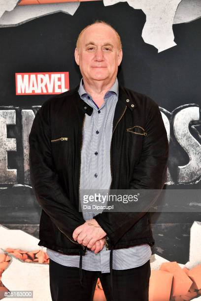 Jeph Loeb attends the Marvel's The Defenders New York Premiere at Tribeca Performing Arts Center on July 31 2017 in New York City
