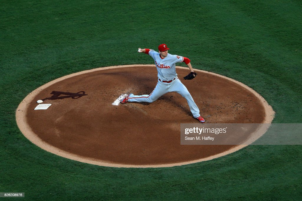 Philadelphia Phillies v Los Angeles Angels of Anaheim
