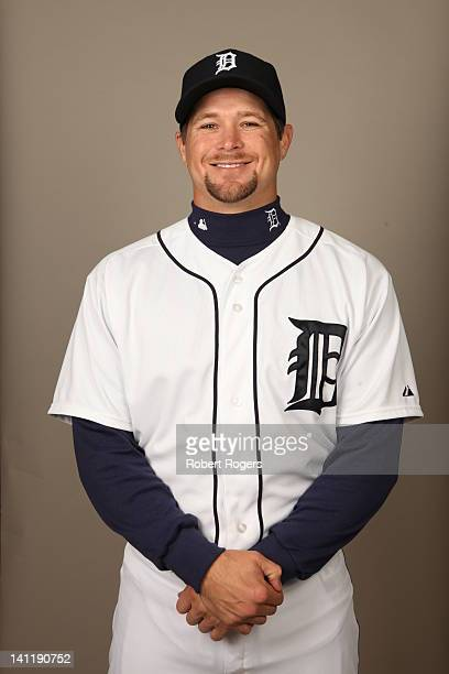 Jerad Head of the Detroit Tigers poses during Photo Day on Tuesday February 28 2012 at Joker Marchant Stadium in Lakeland Florida
