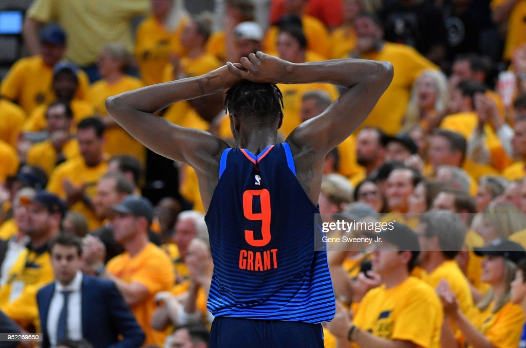 Oklahoma City Thunder v Utah Jazz - Game Six