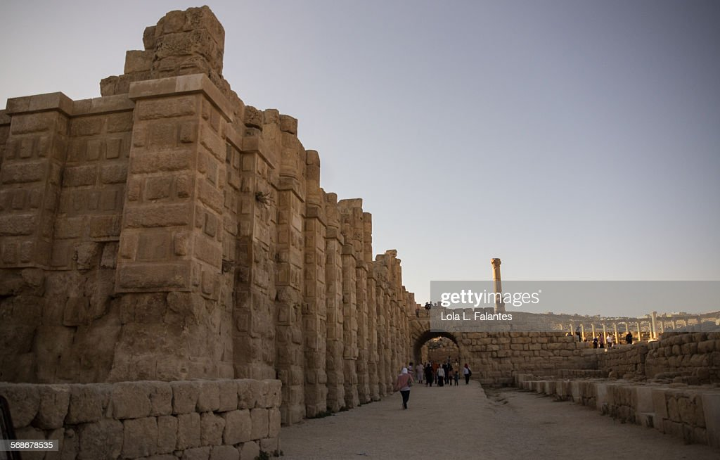 Jerash, hippodrome : Stock Photo