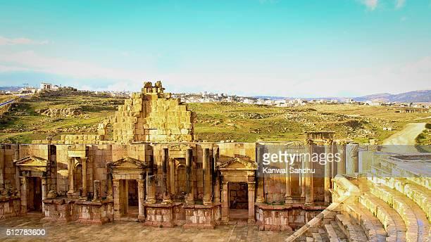 Jerash Roman AmphiTheatre or South Theatre