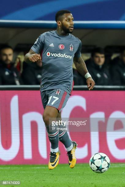 Jeremain Lens of Besiktas controls the ball during the UEFA Champions League group G soccer match between RB Leipzig and Besiktas at the Leipzig...