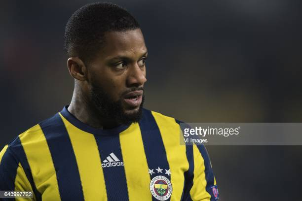 Jeremain Lens of Fenerbahce SKduring the UEFA Europa League round of 16 match between Fenerbahce and FK Krasnodar on February 22 2017 at the Sukru...