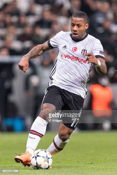 Jeremain Marciano Lens of Besiktas JK during the UEFA Champions League round of 16 match between Besiktas AS and Bayern Munchen at the Vodafone Arena...