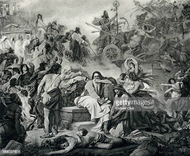 Jeremiah at the fall of Jerusalem after work by Mordecai Benet In BC 587 the Babylonian Empire lead by Nebuchadnezzar II conquered Jerusalem and...