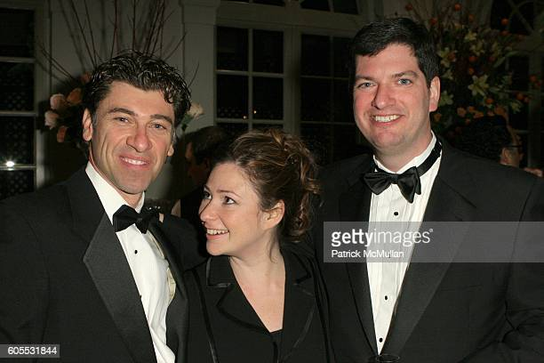 Jeremiah Chechik Polina Steier and Steier attend Caviar Butler hosts Caviar Affair To Benefit MOCA at L'Orangerie on January 22 2006 in West...