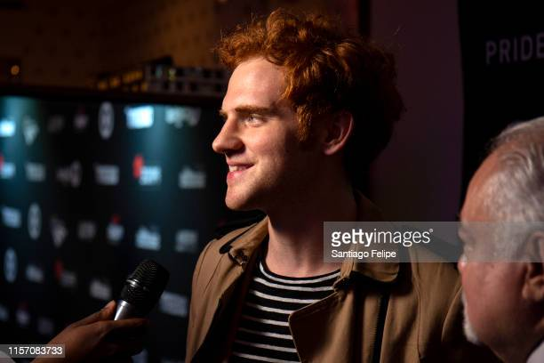 Jeremiah Lloyd Harmon attends the 2nd Annual Queerty Pride50 event at at Town Stages on June 19 2019 in New York City