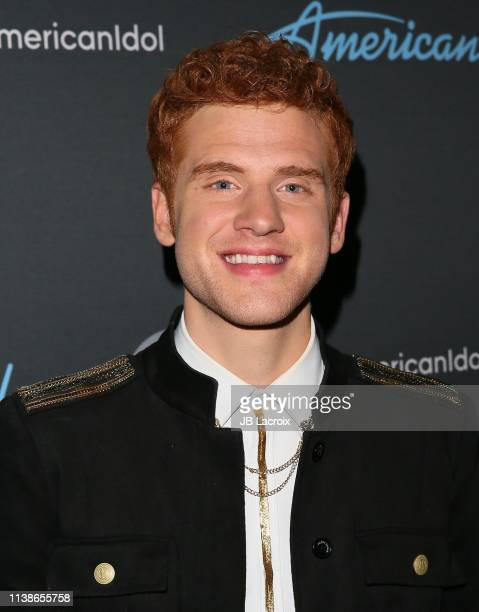 Jeremiah Lloyd Harmon attends the taping of ABC's 'American Idol' on April 21 2018 in Los Angeles California