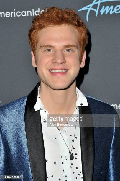 Jeremiah Lloyd Harmon poses for a photo after ABC's American Idol live show on April 28 2019 in Los Angeles California
