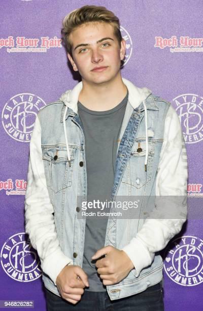 Jeremiah Perkins attends Hayden Summerall's 13th Birthday Bash at Bardot on April 15 2018 in Hollywood California
