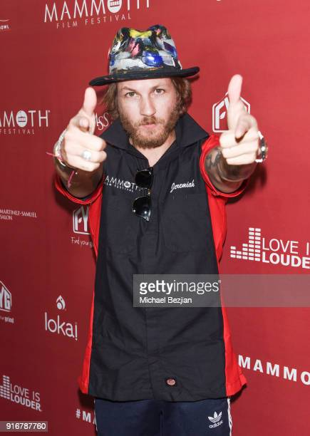 Jeremiah Samuel arrives at The Inaugural Mammoth Film Festival on February 10 2018 in Mammoth Lakes California