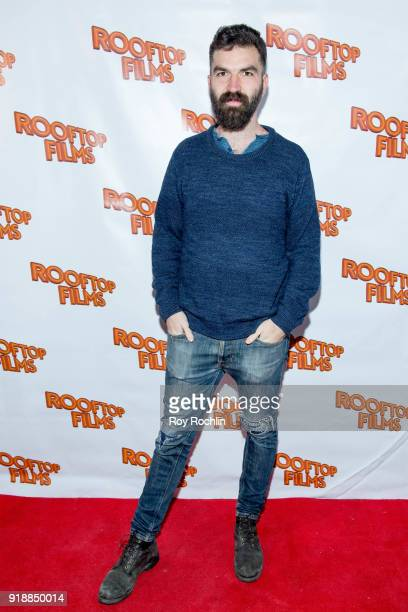 Jeremiah Zagar attends the 2nd Annual Rooftop Gala at St Bart's Church on February 15 2018 in New York City