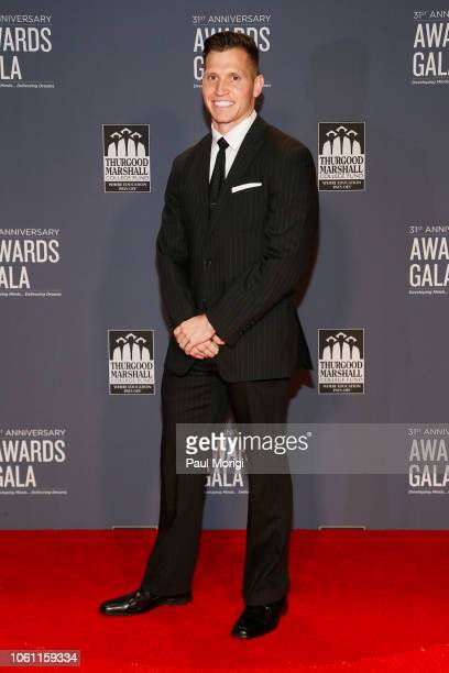 Jeremiah Zelt TMCF Scholar arrives at the Thurgood Marshall College Fund 31st Anniversary Awards Gala on October 29 2018 in Washington DC