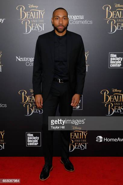Jeremie Harris attends the 'Beauty and the Beast' New York screening at Alice Tully Hall Lincoln Center on March 13 2017 in New York City