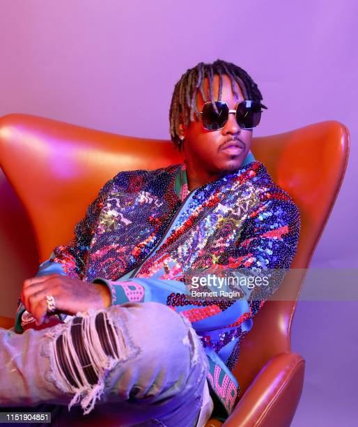 Jeremih poses for a portrait during the BET Awards 2019 at Microsoft Theater on June 23 2019 in Los Angeles California