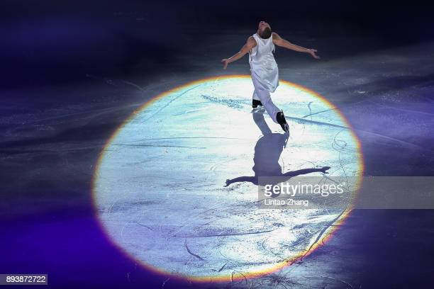 Jeremy Abbott of the United States performs during the Stars On Ice 2017 China Tour at Beijing Capital Gymnasium on December 16 2017 in Beijing China