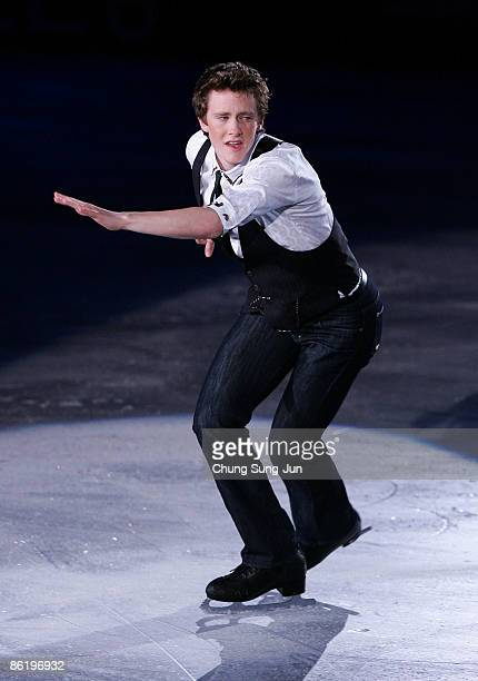 Jeremy Abbott of USA performs during Festa on Ice 2009 at KINTEX on April 24 2009 in Goyang South Korea