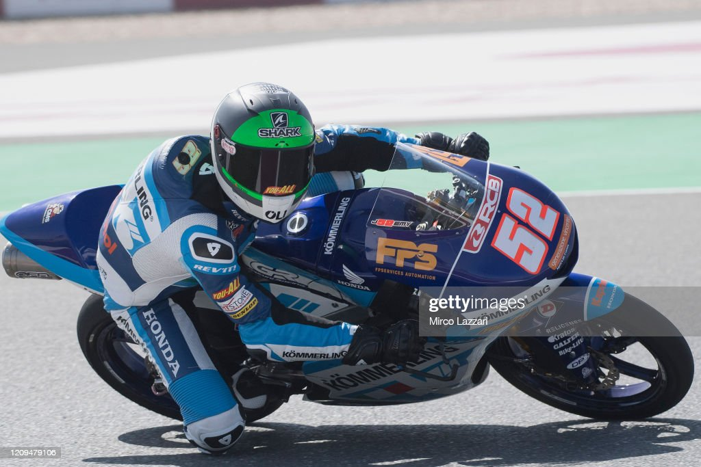 Moto2 And Moto3 Tests In Doha  - Day 2 : News Photo