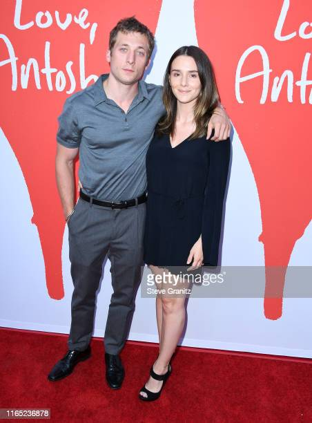 Jeremy Allen White and Addison Timlin arrives at the Los Angeles Premiere Of Lurker Productions' Love Antosha at ArcLight Cinemas on July 30 2019 in...