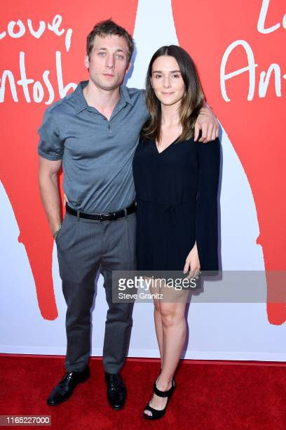Jeremy Allen White and Addison Timlin attend the Los Angeles Premiere of Lurker Productions' Love Antosha at ArcLight Cinemas on July 30 2019 in...