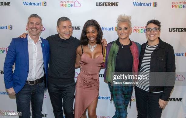 Jeremy Blacklow Craig Robinson Tamara M Williams Frankie Grande and Carly Usdin at the 5th Annual Bentonville Film Festival on May 09 2019 in...