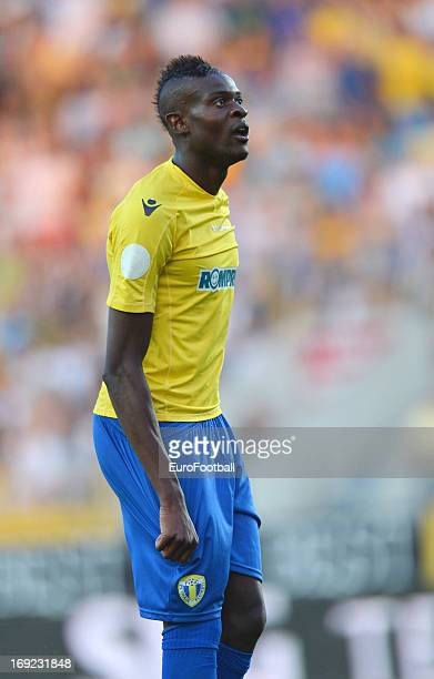 Jeremy Bokila of FC Petrolul Ploiesti in action during the Romanian First Division match between FC Petrolul Ploiesti and FC Astra Ploiesti held on...